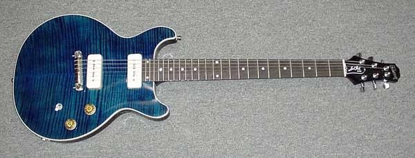 Gibson Les Paul Double cut special construction type Guitar plans